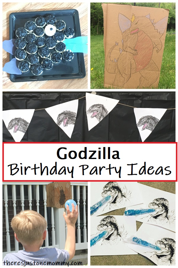 Godzilla party ideas for kids