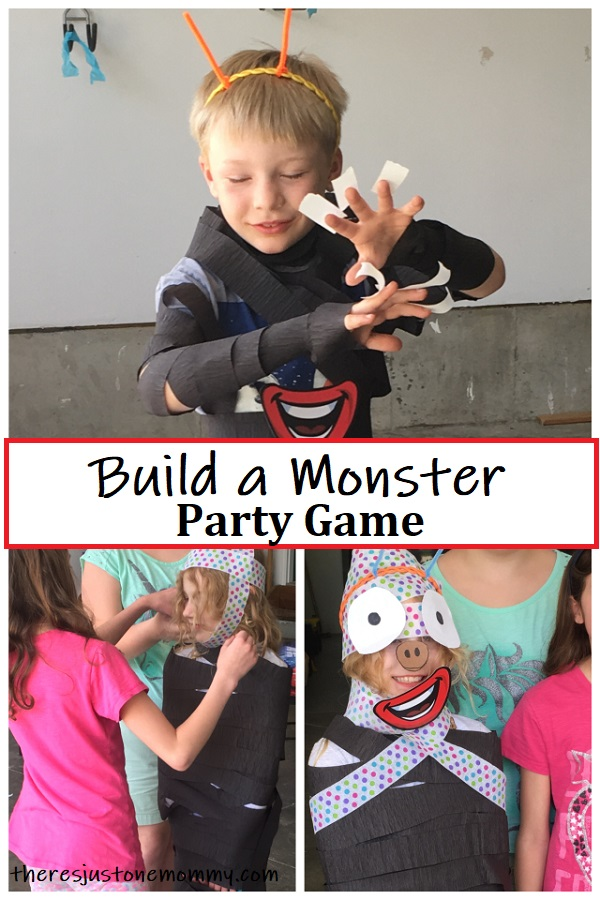 kids party game for Godzilla party