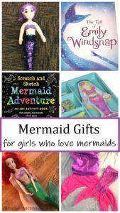 fun mermaid gift ideas for girls that love mermaids
