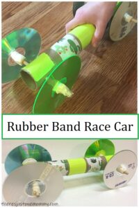 rubber band STEM activity