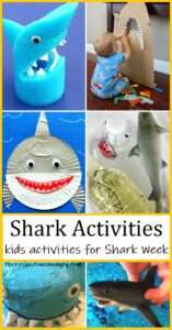 kids shark activities for Shark Week