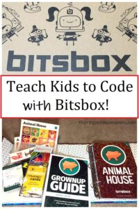 Bitsbox STEM subscription box to teach kids coding