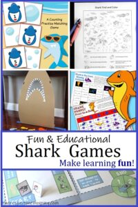 educational shark themed games
