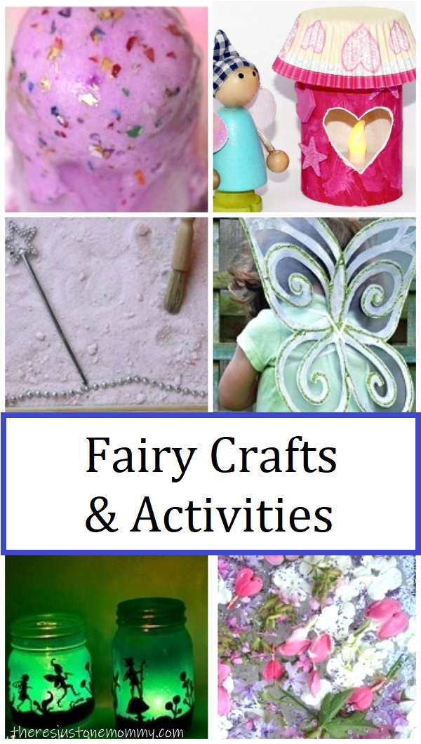 fairy activities and craft ideas