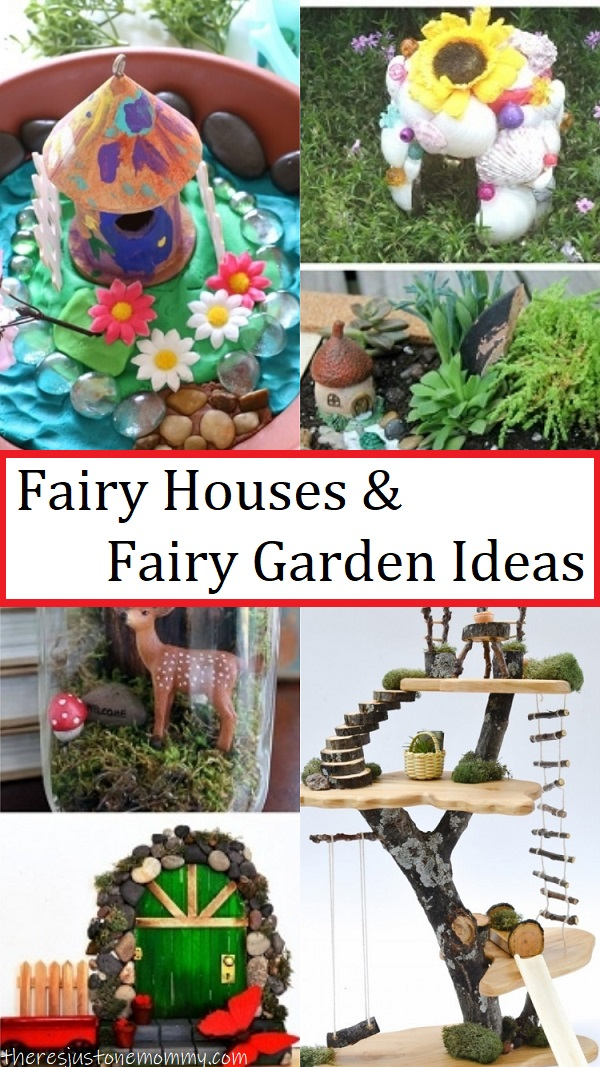 fun fairy house crafts and fairy garden ideas for kids