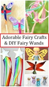 fairy crafts & DIY fairy wands