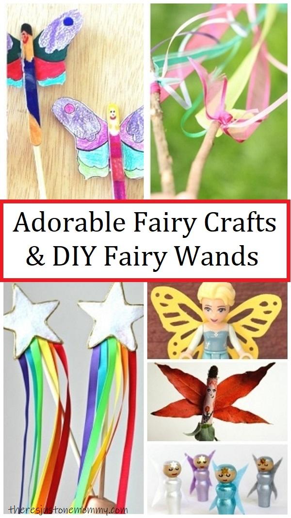 fairy crafts & DIY fairy wands