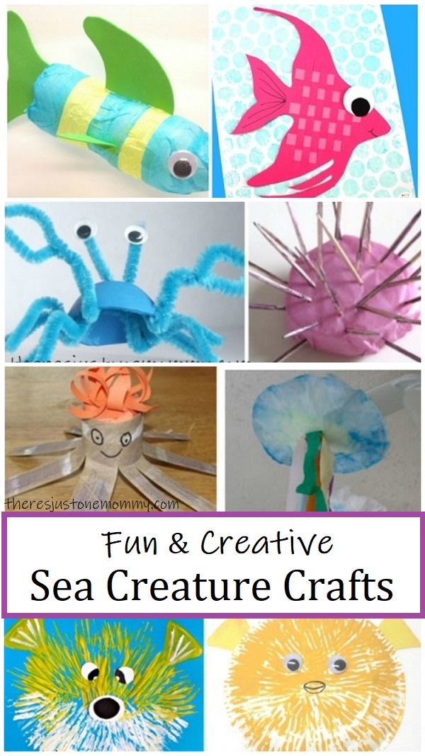 sea animal crafts for kids