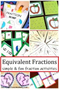 activities to teach equivalent fractions
