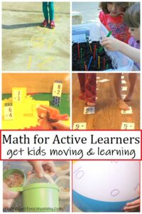 active math activities for kids