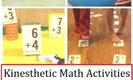 math activities for kinesthetic learners