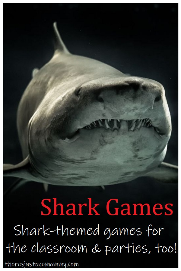shark themed games for kids