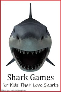 from educational shark games to fun games for shark parties, these games are perfect for kids that love sharks