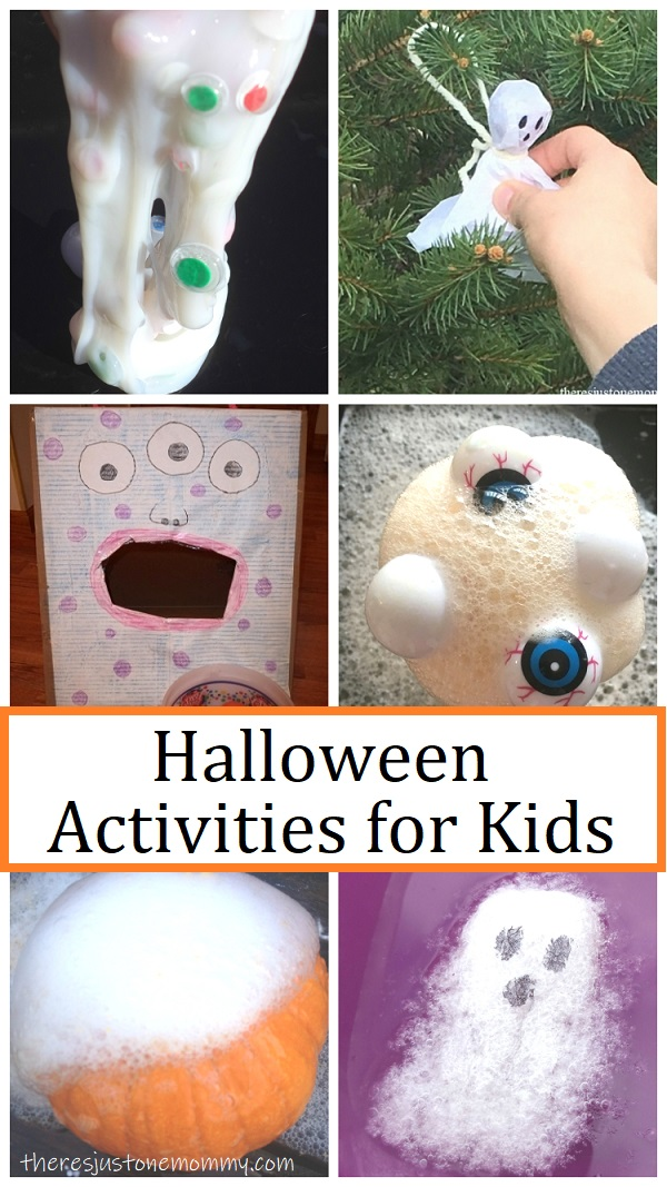 kids activities for Halloween