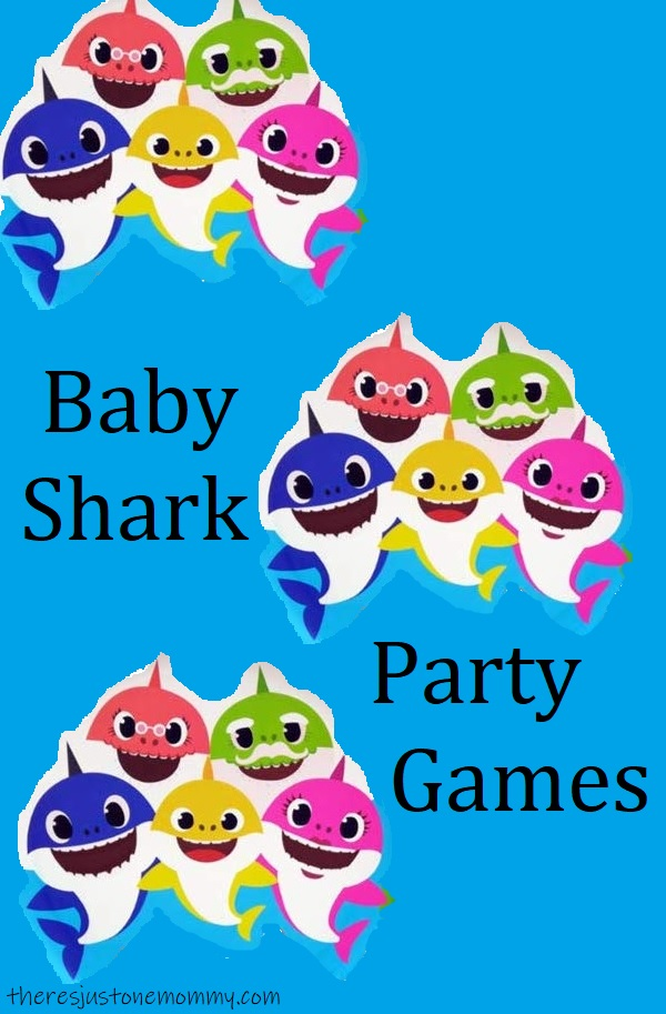 easy games for baby shark birthday party