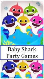 games for baby shark party