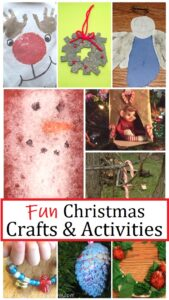 kids crafts for Christmas and Christmas activities