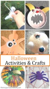 Halloween activities and crafts for kids