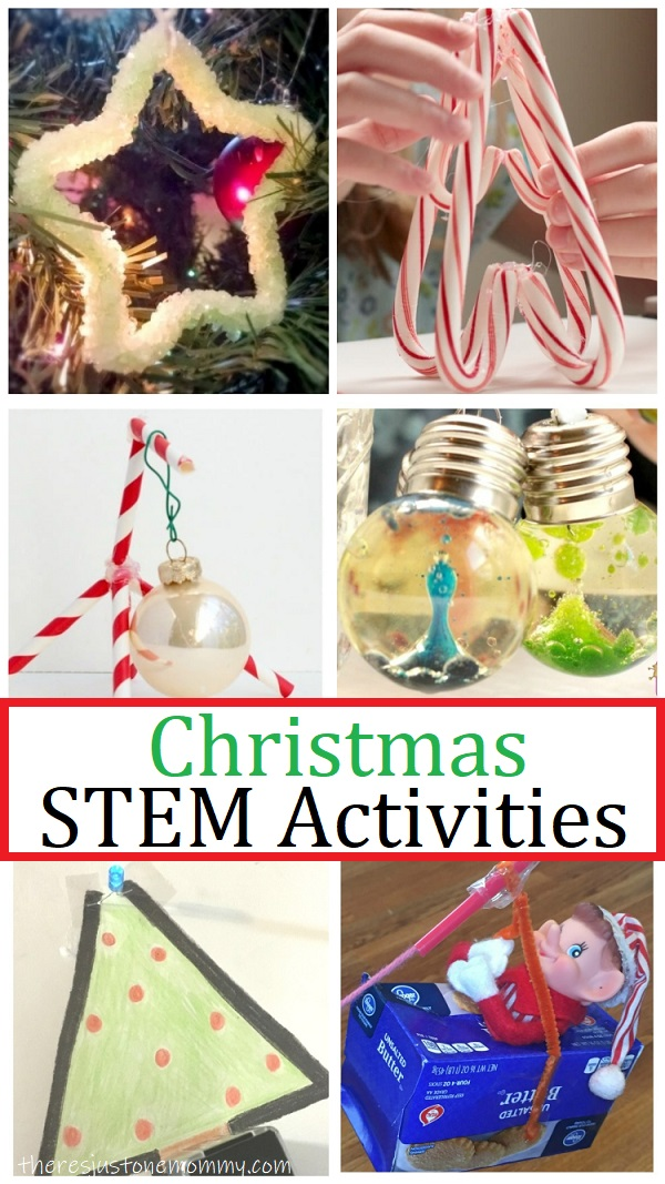 Christmas Stem Activities There S Just One Mommy