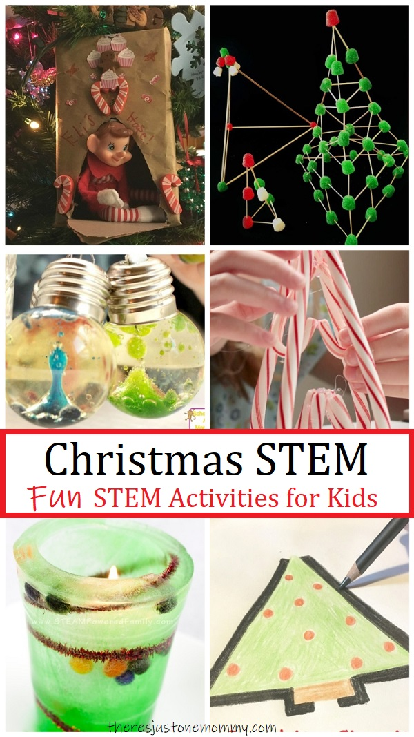 Christmas STEM activities for kids