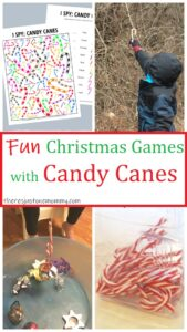 kids Christmas games with candy canes