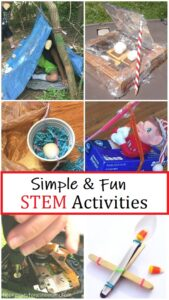 simple & fun STEM activities for kids