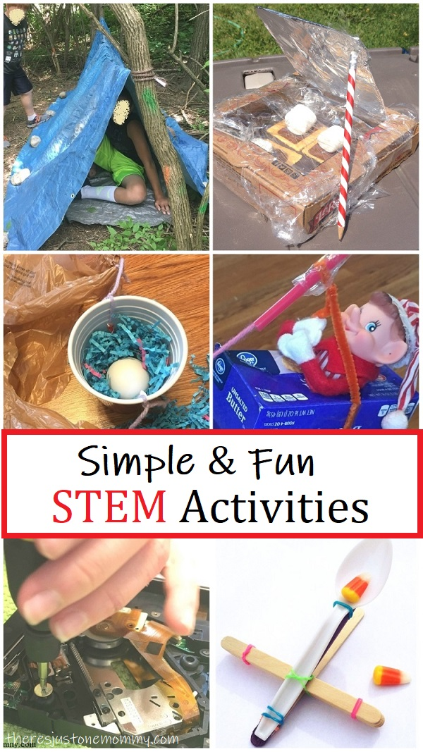 Simple Fun Stem Activities There S Just One Mommy