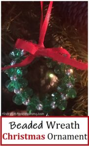 wreath ornament kids can make
