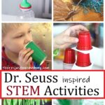 STEM activities inspired by Dr Seuss books
