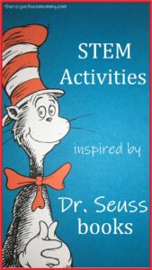 fun STEM activities for Dr. Seuss books