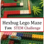 build a Hexbug Lego maze STEM challenge for kids