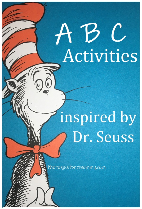 ABC activities with Dr Seuss books