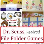 file folder games for Dr. Seuss