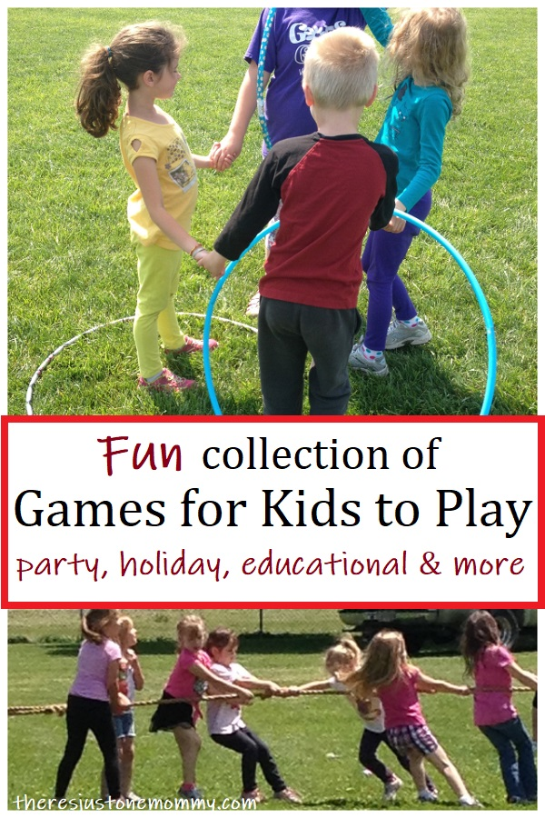 fun games for kids to play