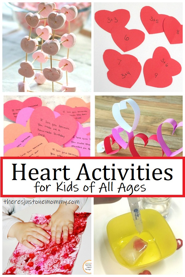 valentine's day heart activities