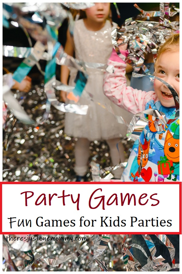 fun game ideas for kids parties