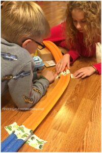DIY marble run STEM challenge