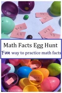 fun math activity with Easter eggs