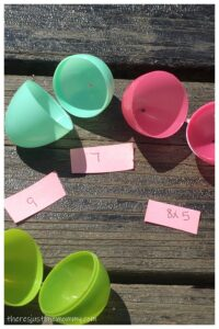 fun math activity for Easter