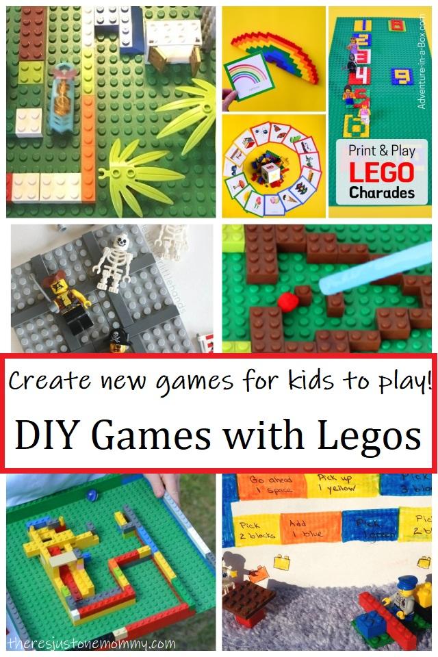DIY games for kids using Legos