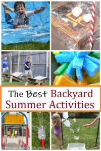 fun backyard activities for summer