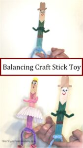 how to make a balancing craft stick toy