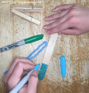 how to make a craft stick balance toy