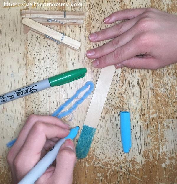 how to make a craft stick balance toy