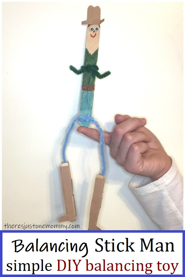 how to make a craftstick balancing toy