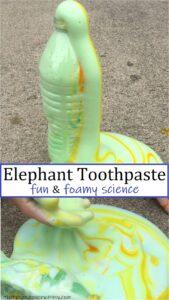 elephant toothpaste recipe