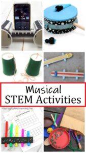 fun music STEM activities for kids