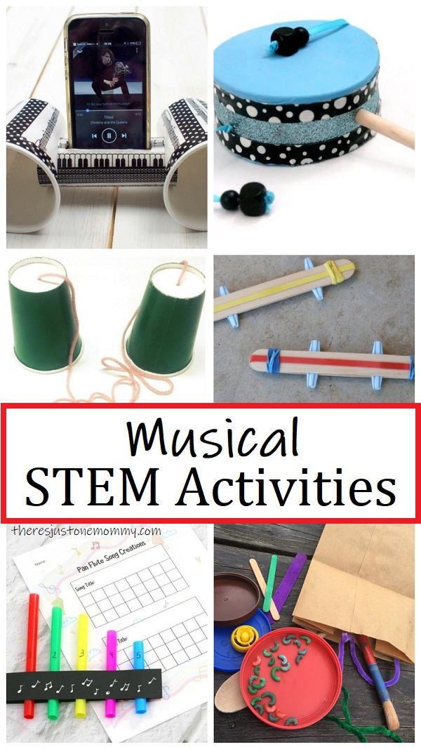 fun music STEM activities for kids