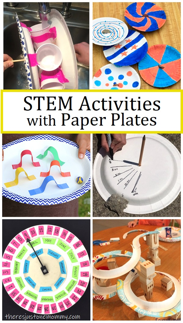 STEM activities with paper plates