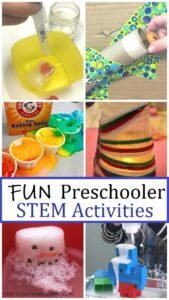 STEM activities perfect for preschoolers